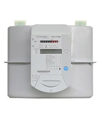 Счетчик газа Itron Actaris Gallus G6 RF1 iV PSC с системой предоплаты