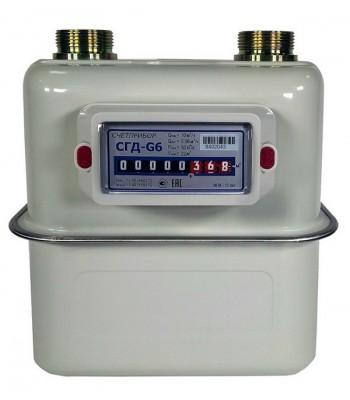 Счетчик газа СГД G6
