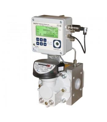 Комплекс для измерения количества газа СГ-ЭК-Р на базе счетчика RVG с коррек. ЕК270