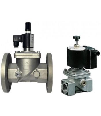 BEV 600 RM/RMF – нормально открытые газовые клапана с ручным взводом