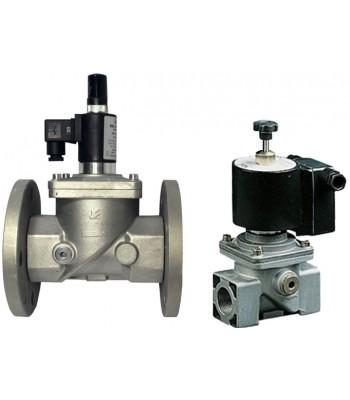 BEV 600 RM6/RMF6 – нормально открытые газовые клапана с ручным взводом, на 6 бар