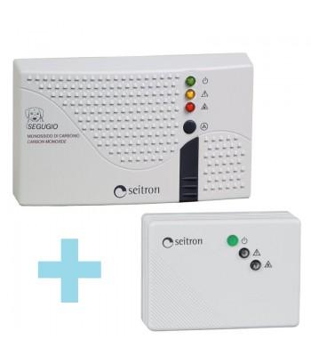 RGDCO0MP1+SGAMET - комплект сигнализаторов загазованности на угарный и природный газы