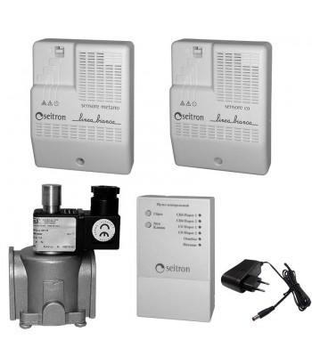 LINEA BIANCA RGD-CH4+CO-R - бытовой комплект на природный и угарный газы с пультом контроля