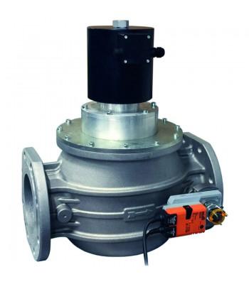 EVP/NC (EVCA) Автоматические нормально закрытые газовые клапаны с электрическим регулятором расхода