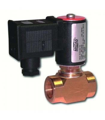 EVO/NC Автоматические нормально закрытые газовые клапаны в латунном корпусе