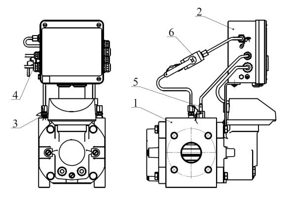 СГ-ЭК-Р со счетчиками газа ротационными RVG